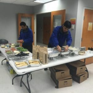 Third Annual Dinner At The Hypothermia Shelter