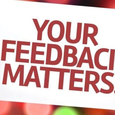 customer feedback is important