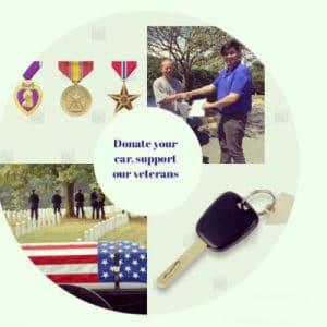 cars helping veterans