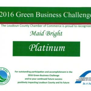 Maid Bright is the 2016 Green Business Challenge Award Winner!