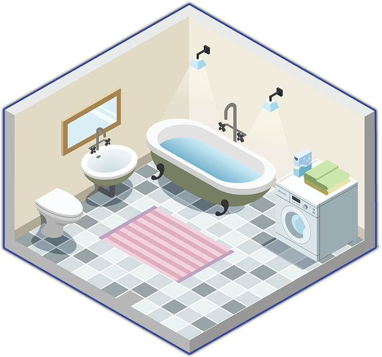Maid Bright Professional House Cleaning Services - Bathroom maid