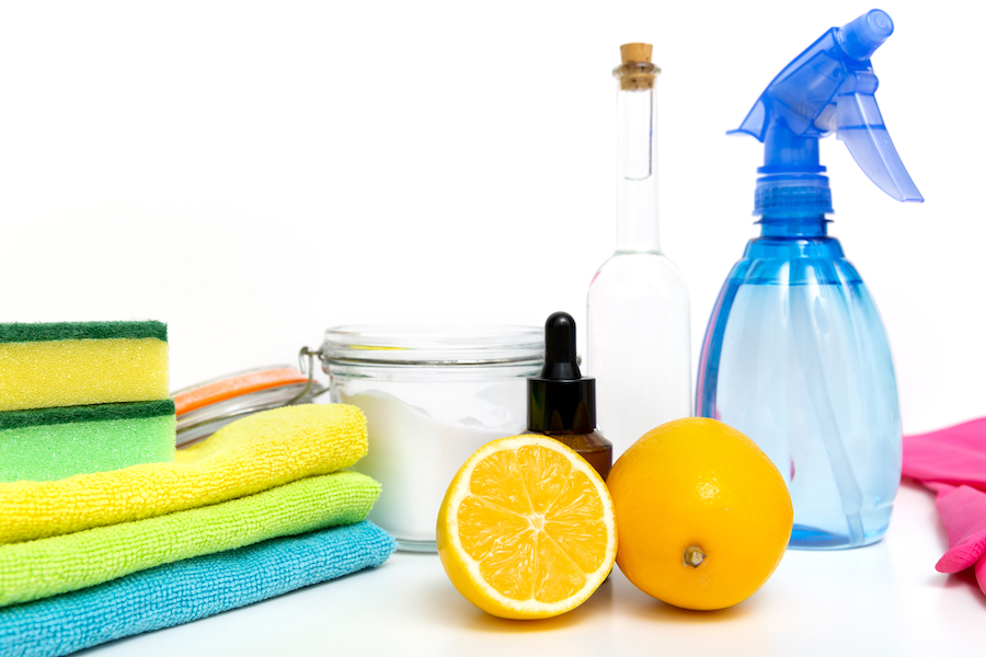Eco-friendly natural cleaners, cleaning products. Homemade green cleaning
