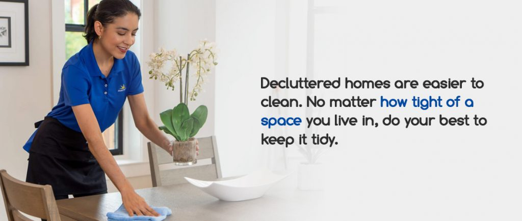 Arrange Your Home in a Way That Allows Easy Cleaning