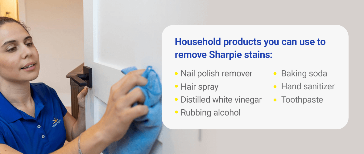 What Household Products Remove Sharpie?