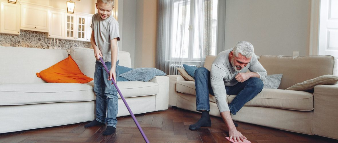 how often should I scrub my floors