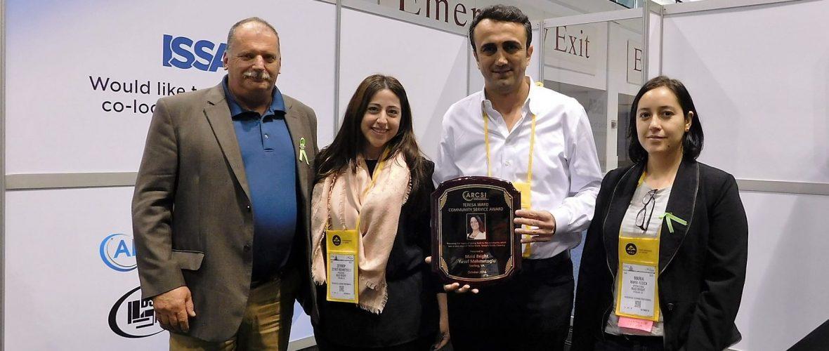 teresa ward award